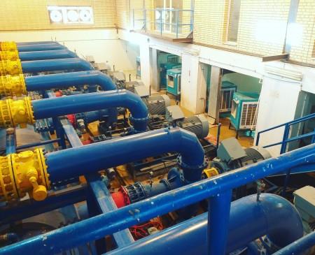 پمپاژ آب غدیر(خوزستان)